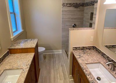 Dual Bathroom Remodel- Combs Residence